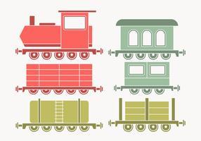 caboose samling vektor