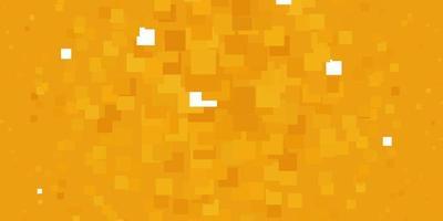 ljus orange vektor bakgrund i månghörnigt stil.