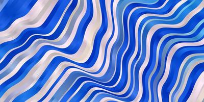 hellrosa, blauer Vektorhintergrund mit Linien.