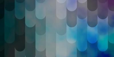 hellrosa, blauer Vektorhintergrund mit Linien. vektor