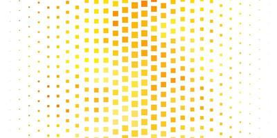 helloranger Vektorhintergrund im polygonalen Stil.