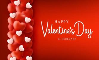 glücklicher und sicherer Valentinstag-Verkaufshintergrund vektor