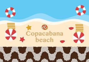 copacabana texturvektor