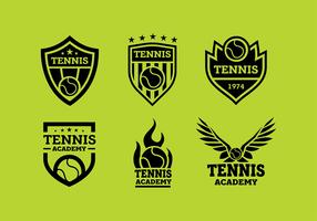 Tennis Logo Kostenloser Vektor