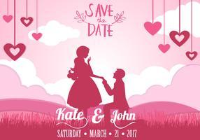 Einladung von RSVP mit Paaren