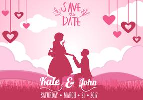 Inbjudan av RSVP med par