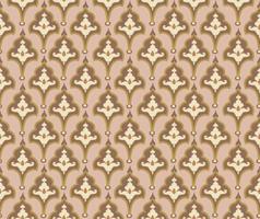orientalische Fliesenverzierung. Abstrcat geometrisches Retro nahtloses Muster. florale asiatische native dekorative Kulisse.