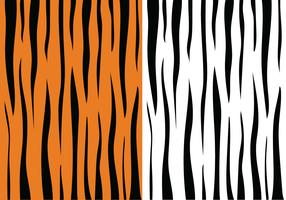 Tiger Streifenmuster vektor