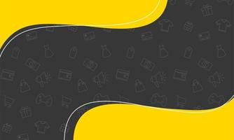 Verkaufsbanner färbt Plakatsymbol