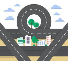 städtischer Vektor-Design