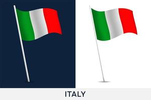 Italien Vektor Flagge