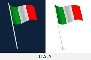 Italien vektor flagga