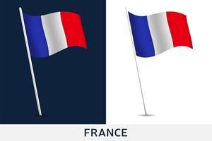 frankrike vektor flagga