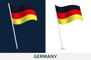 Tyskland vektor flagga