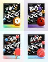 sport reklamblad annonsuppsättning