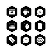ikonuppsättning för sökmotoroptimering