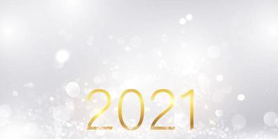 Frohes neues Jahr 2021 Hintergrund.