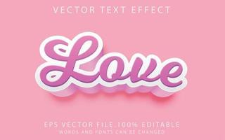 texteffekt kärlek