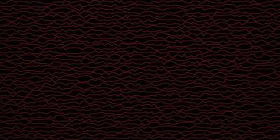 mörkrött vektormönster med sneda linjer. vektor