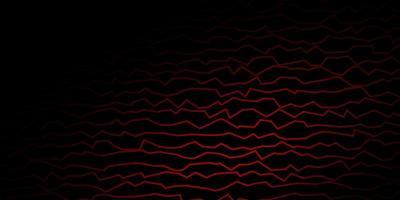 dunkelrotes Vektormuster mit schiefen Linien.