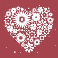 Alla hjärtans dag bakgrund vektor illustration