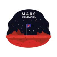 Mars Exploration vektor