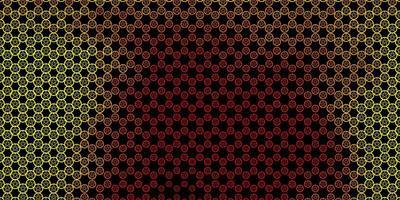 mörk röd, gul vektor konsistens med religion symboler.