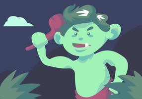 Grüner Troll