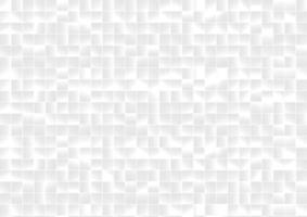 Hintergrund und Textur des abstrakten Musters weißer und grauer quadratischer Gitterpixel. vektor