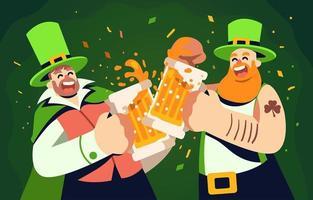 große brüder jubeln st. Patricks Tag
