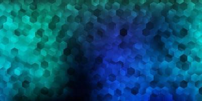 ljusblå vektor konsistens med memphis former.