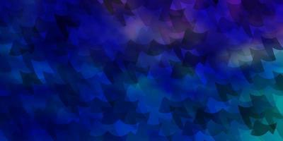 hellrosa, blaue Vektorschablone mit Rechtecken.