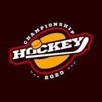 Hockey Sport Logo vektor