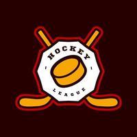 hockeysportlogotyp vektor