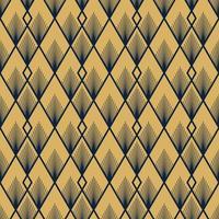 art deco vektor sömlösa mönster