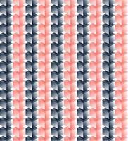 Vektor nahtloses Muster von rosa und schwarzen Würfeln
