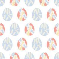 påskägg sömlösa mönster