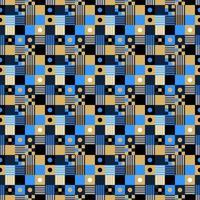 Pixel nahtloses Muster vektor