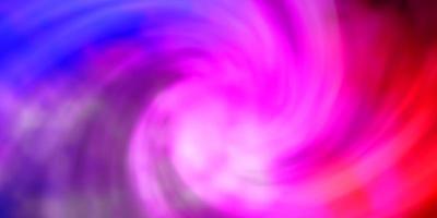 ljusrosa, blå vektormall med himmel, moln. vektor