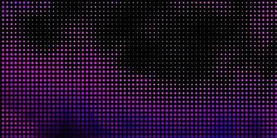 ljusrosa, blå vektormall med cirklar.