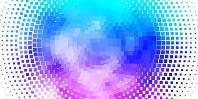 ljusrosa, blå vektorbakgrund med rektanglar.