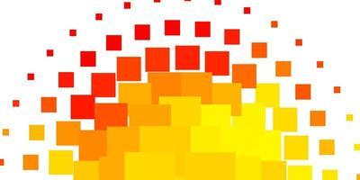 ljus orange vektor konsistens i rektangulär stil.