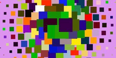 heller mehrfarbiger Vektorhintergrund mit Rechtecken.