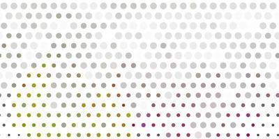 ljusgrå vektormall med cirklar. vektor