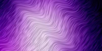 hellvioletter Vektorhintergrund mit Bögen.