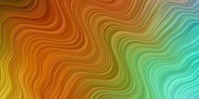 ljus flerfärgad vektorstruktur med cirkelbåge. vektor
