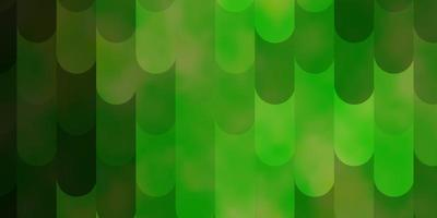 ljusgrön, gul vektormall med linjer.