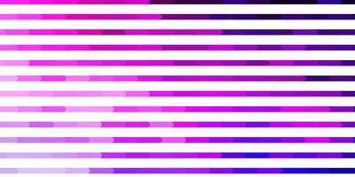 hellrosa, blaues Vektormuster mit Linien.