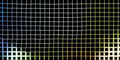 ljus flerfärgad bakgrund i polygonal stil. vektor