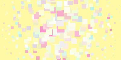 heller mehrfarbiger Vektorhintergrund im polygonalen Stil.